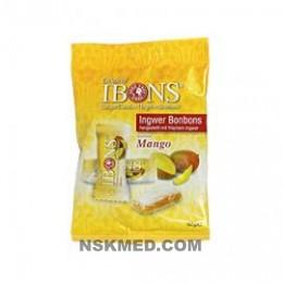 IBONS Mango Ingwerkaubonbons Orig.Btl.m.Euroloch 92 g