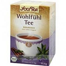 YOGI TEA Wohlfühl Bio Filterbeutel 17X1.8 g
