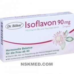 DR.BÖHM Isoflavon 90 mg Dragees 30 St