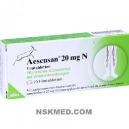 AESCUSAN 20 mg N Filmtabletten 20 St