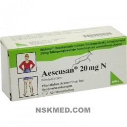 AESCUSAN 20 mg N Filmtabletten 50 St