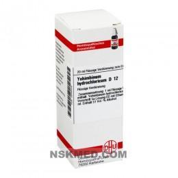 YOHIMBINUM HYDROCHLORICUM D 12 Dilution 20 ml