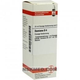 DAMIANA D 4 Dilution 20 ml