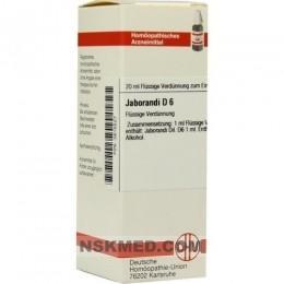 JABORANDI D 6 Dilution 20 ml