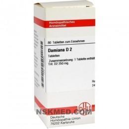 DAMIANA D 2 Tabletten 80 St