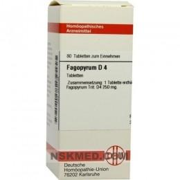 FAGOPYRUM D 4 Tabletten 80 St