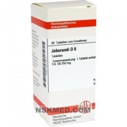 JABORANDI D 6 Tabletten 80 St