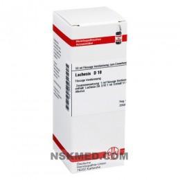 LACHESIS D 10 Dilution 50 ml