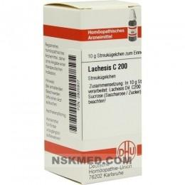 LACHESIS C 200 Globuli 10 g