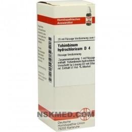 YOHIMBINUM HYDROCHLORICUM D 4 Dilution 20 ml