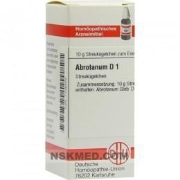 ABROTANUM D 1 Globuli 10 g