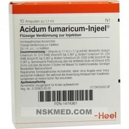 ACIDUM FUMARICUM INJEEL Ampullen 10 St