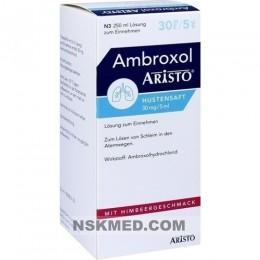 AMBROXOL Aristo Hustensaft 30 mg/5 ml Lsg.z.Einn. 250 ml
