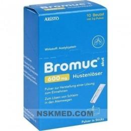 BROMUC akut 600 mg Hustenlöser Plv.z.H.e.L.z.Einn. 10 St