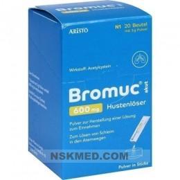 BROMUC akut 600 mg Hustenlöser Plv.z.H.e.L.z.Einn. 20 St