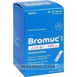 BROMUC akut Junior 100 mg Hustenlöser P.H.e.L.z.E. 20 St