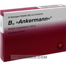 B12 ANKERMANN überzogene Tabletten 50 St
