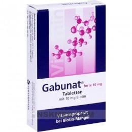 GABUNAT forte 10 mg Tabletten 30 St