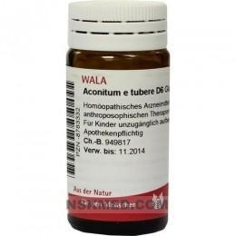 ACONITUM E tubere D 6 Globuli 20 g