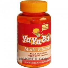 Яябаер витамины для детей (YAYABÄR Kinder-Vitamine) Fruchtgummis 60 St