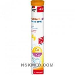 DOPPELHERZ Calcium+D3 Osteo 1.000 Brausetabletten 15 St