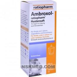 AMBROXOL ratiopharm Hustensaft 250 ml