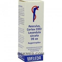 AESCULUS CORTEX D 30/Lavandula D 6 aa Augentropfen 10 ml