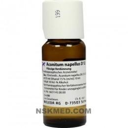ACONITUM NAPELLUS D 12 Dilution 50 ml