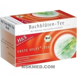 H&S Bachblüten Erste-Hilfe-Tee Filterbeutel 20 St