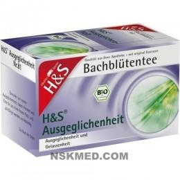 H&S Bachblüten Ausgeglichenheits-Tee Filterbeutel 20 St