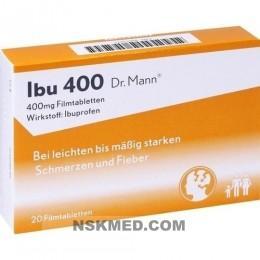 IBU 400 Dr.Mann Filmtabletten 20 St