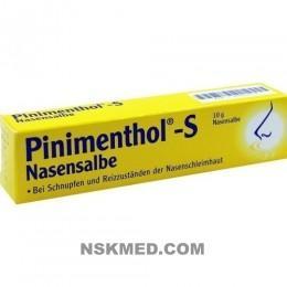 Пиниментол С мазь для носа (PINIMENTHOL S Nasensalbe) 10 g